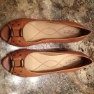NWOB Michelle D Leather Upper Wedge Heels Shoes Size 10