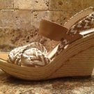 NWOB MRKT Wedge Sandals Heels Size 8.5