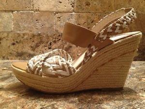 NWOB MRKT Wedge Sandals Heels Size 8.5