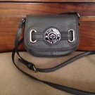 NWOT Nine West Gray Crossbody Purse Leather