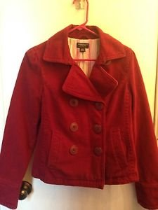 American Eagle Outfitters Red Jacket Size Small Super Cute !!!!