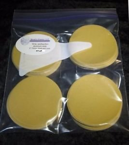 "3"" hook and loop aluminium oxide 800 grit sanding discs pack of 50 discs"