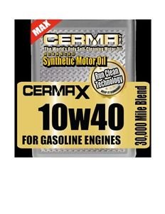 Cerma The Works 5qt10w40oil, Engine,transmission,power steering,fuel treatment