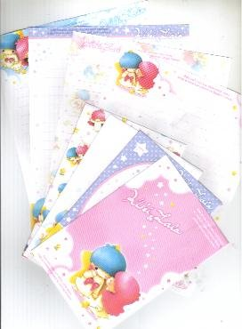 Japan Sanrio Little Twin Stars lettersets