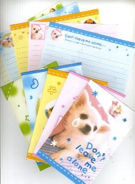 Japan Cru-x Puppy Cry - Don't leave me alone Lettersets
