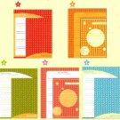 Japan Cru-x Natural Dots Lettersets