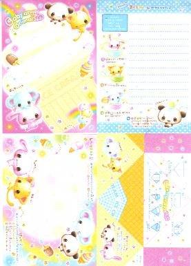 Japan Cru-x Baby Angel Animal Papers