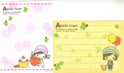 Japan Cru-x Apple Town Memos