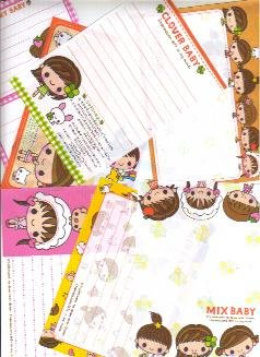 Japan Kamio Clover baby Papers