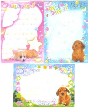 Japan Kamio Angel Dog Memos