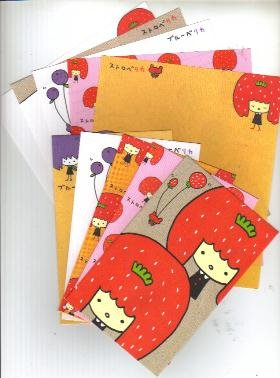 Japan Q-Lia Strawberry San Lettersets