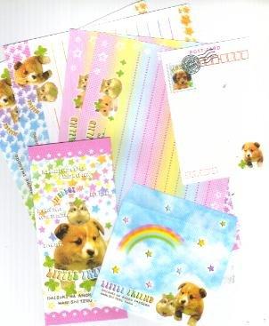 Japan Little Friend (Puppy & Hamster) Memosets