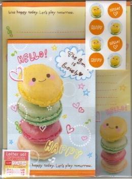 JAPAN Delicious Cookies Lettersets Pack KAWAII