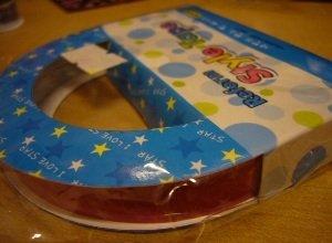 Korea Pink Star Big Deco Tape