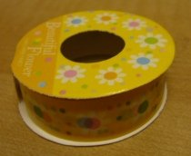 Korea Yellow Flower Deco Tape