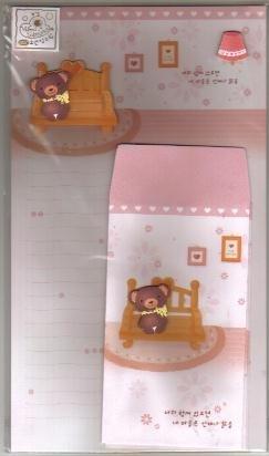 Korea Bear's Room Lettersets Pack