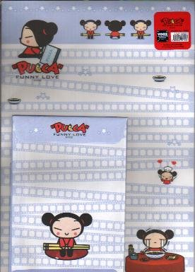 Korea Pucca Love Over-size Lettersets Pack (Purple)