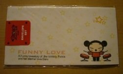 Korea Pucca Love 5 Envelopes Pack (Drum)