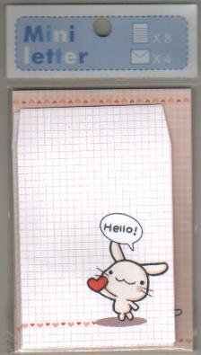 Taiwan Rabbit Love Memosets