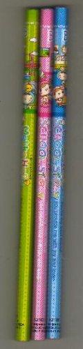 Korea Mokko Hello Set of 3 Pencils