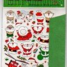 Korea DIY Christmas Card (Green) w/ Card + Envelope + Stickers Page