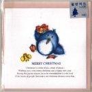Korea Penguin Christmas Card w/ Envelope