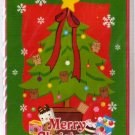 Korea Cookie Bear Christmas Card w/ Envelope #2