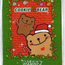 Korea Cookie Bear Christmas Card w/ Envelope #6