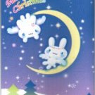Japan San-x Twin Rabbits X'mas Card w/ Envelope