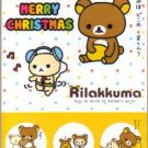 Japan San-x Rilakkuma X'mas Card w/ Envelope #9