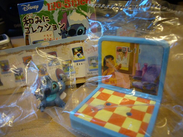 Japan Disney Stitch Memo / photo Holder Kawaii