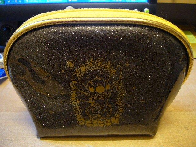 Japan Disney Stitch Sparkly Cosmestic / Pencil Bag Kawaii