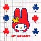 Japan Sanrio My Melody with Clover Postcard KAWAII
