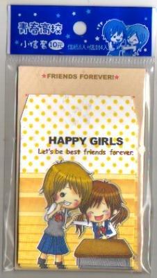 Taiwan Happy Girls Memosets Pack KAWAII