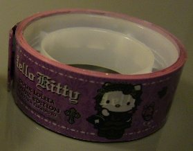 Japan Sanrio Hello Kitty Lolita Deco Tape (Purple) KAWAII