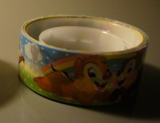 Japan Disney Chip & Dale Deco Tape KAWAII
