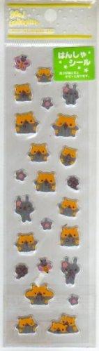 Japan San-x Hamster Light Reflective Sticker KAWAII