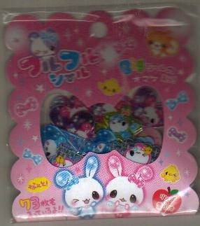 Japan Q-Lia Rabbit Angel Sack Stickers KAWAII
