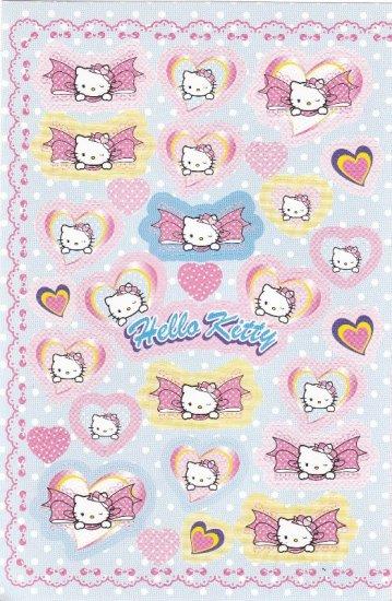 Japan Sanrio Hello Kitty Ribbon Sticker KAWAII