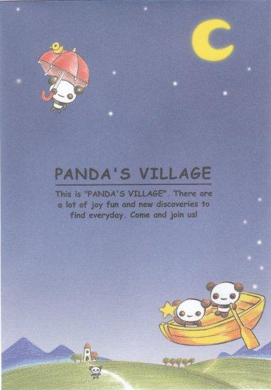 Japan Panda's Village Envelopes (5 pcs) KAWAII