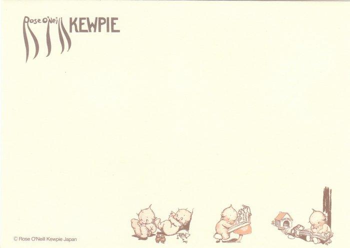 Japan Kewpie Baby Envelopes (3 pcs) KAWAII