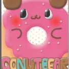 JAPAN Donut Bear Notepad (large memo pad) KAWAII