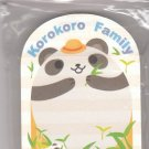 JAPAN Panda & Hamster Die Cut Memopad KAWAII