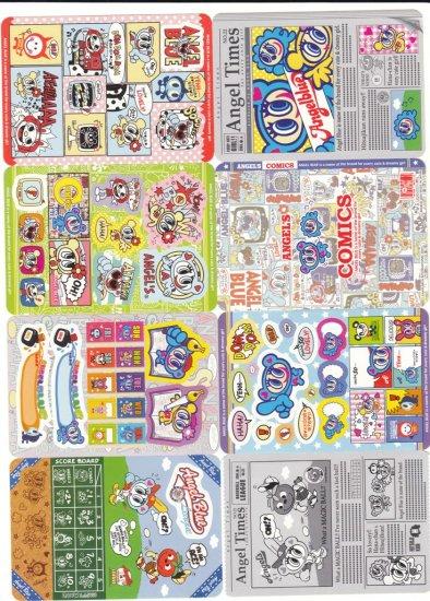 Japan Angel Blue Newspaper Jumbosealdass Sticker KAWAII