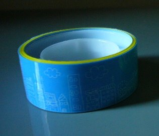 Japan Building Drawing Deco Tape KAWAII