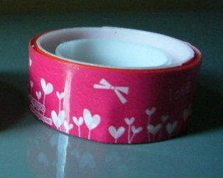 Japan Hearts Bloosem Deco Tape KAWAII