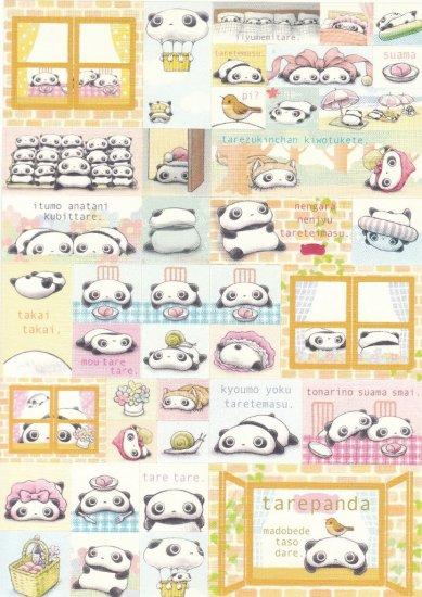 Japan San-x Tarepanda Sticker KAWAII
