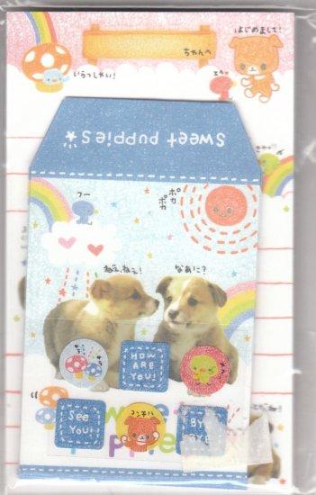 Japan Cru-x Sweet Puppies Memosets Pack KAWAII