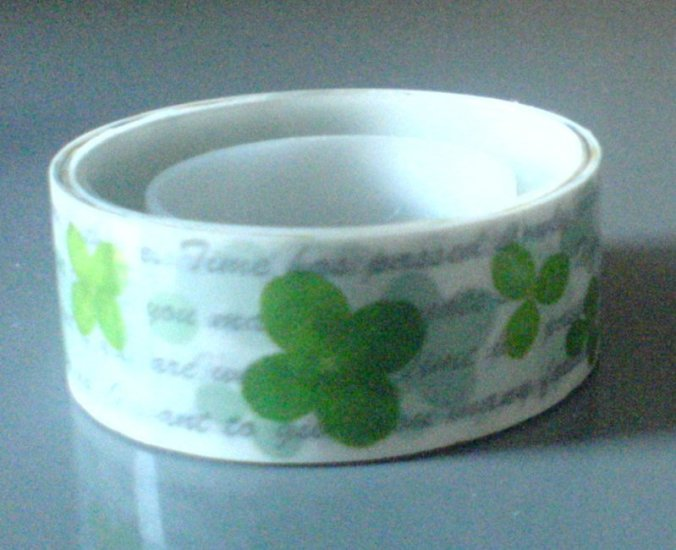 Japan Clover Leaf Deco Tape KAWAII