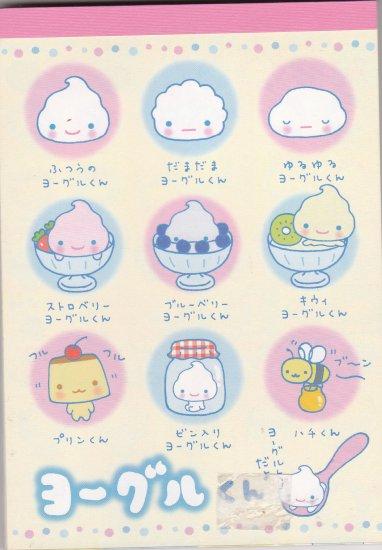 JAPAN San-x Cream San Notepad KAWAII
